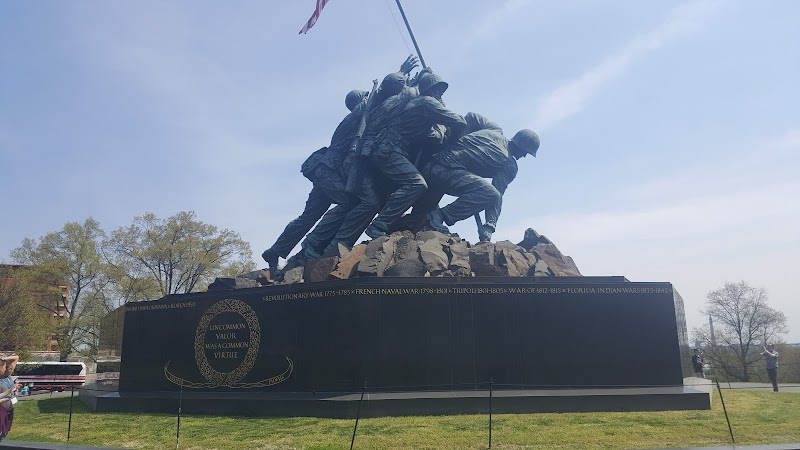 Photo of US Marine Corps War Memorial